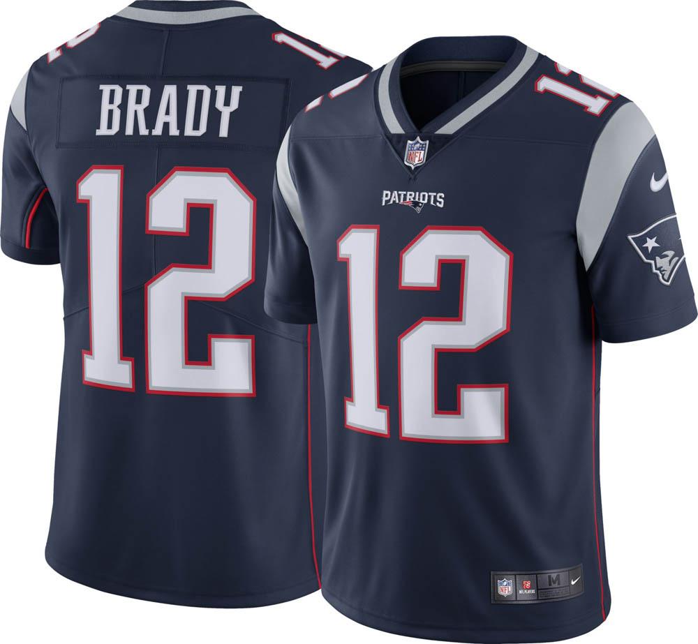 NFL ペイトリオッツ トム・ブレイディ ユニフォーム/ジャージ リミテッド ナイキ/Nike ホーム