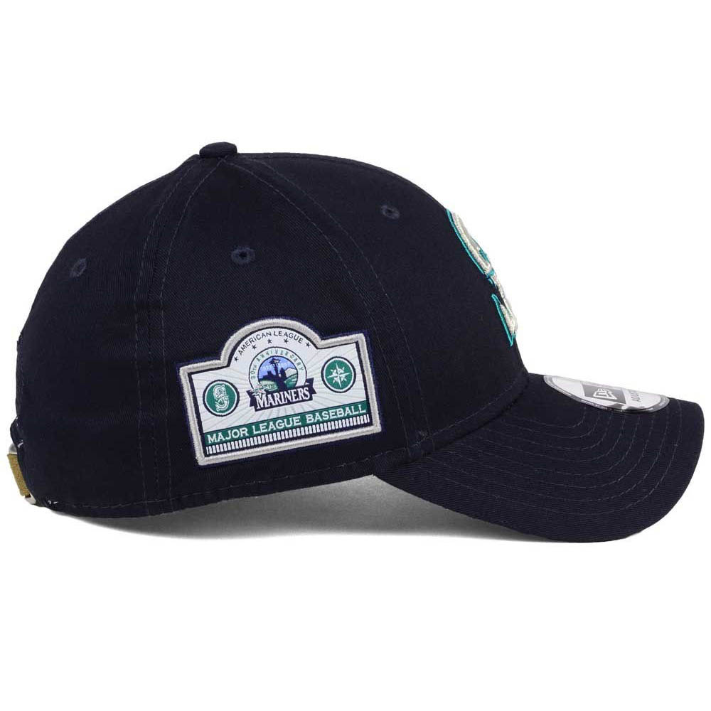 Seattle Mariners New Era MLB Banner Patch 9FORTY Cap