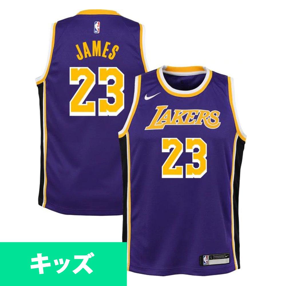 0895e05a56a7 NBA Lakers Revlon James uniform   jersey use statement edition swing manno  smart  Nike