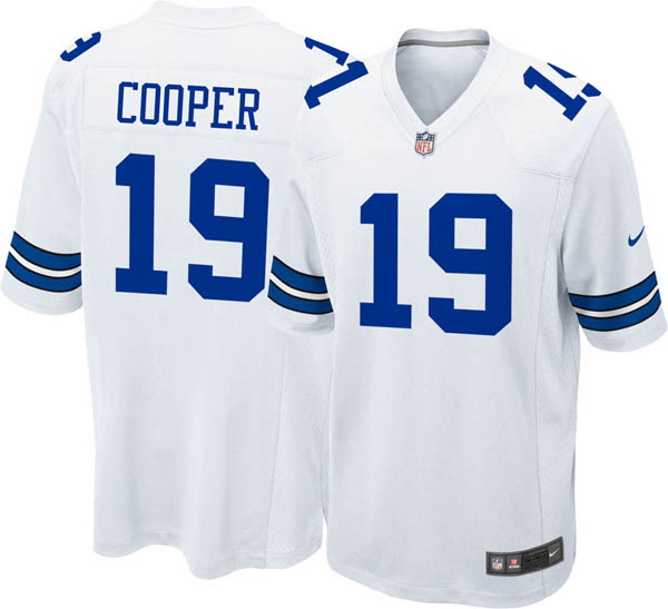 NFL カウボーイズ アマリ・クーパー ゲーム ジャージ/ユニフォーム ナイキ/Nike ホワイト