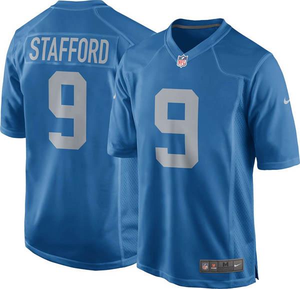 NFL ライオンズ マシュー・スタッフォード ゲーム ジャージ/ユニフォーム ナイキ/Nike オルタネート