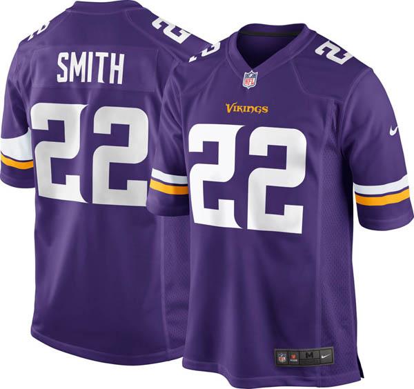 お取り寄せ お取り寄せ NFL バイキングス ハリソン・スミス ゲーム ジャージ/ユニフォーム ナイキ/Nike ホーム