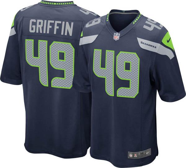 NFL シーホークス シャキーム・グリフィン ゲーム ジャージ/ユニフォーム ナイキ/Nike ホーム