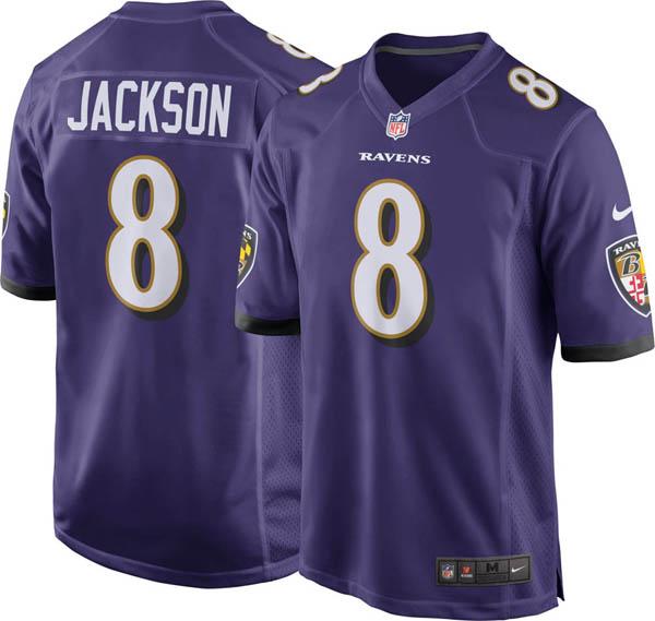 NFL レイブンズ ラマー・ジャクソン ゲーム ジャージ/ユニフォーム ナイキ/Nike ホーム