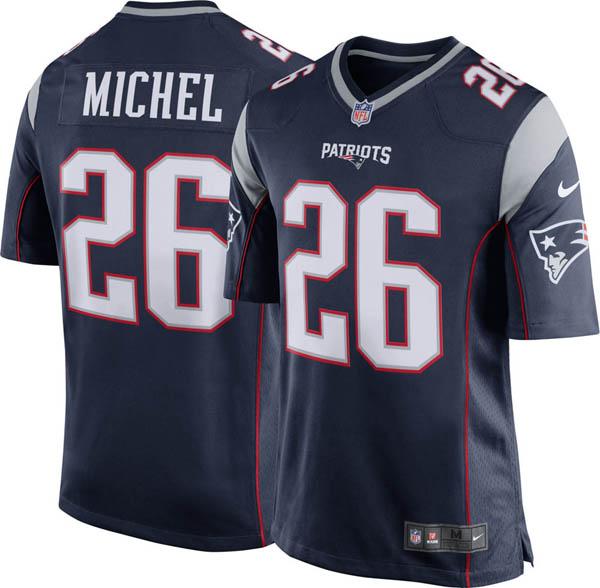 NFL ペイトリオッツ ソニー・マイケル ゲーム ジャージ/ユニフォーム ナイキ/Nike ホーム