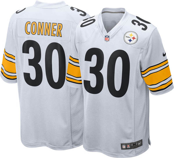 best loved d2b82 12abf NFL Steelers James Conner game jersey / uniform Nike /Nike Away
