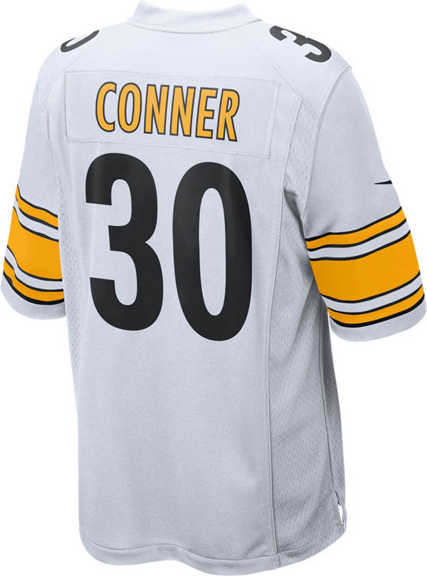 best loved 60dcf 3b0f2 NFL Steelers James Conner game jersey / uniform Nike /Nike Away