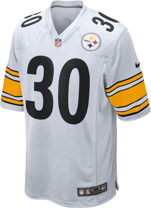 best loved 17a4f 6b1af NFL Steelers James Conner game jersey / uniform Nike /Nike Away