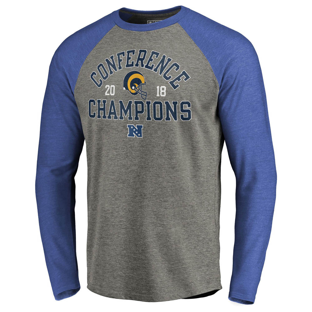 NFL ラムズ Tシャツ NFC カンファレンス スクリメージ ロングスリーブTシャツ