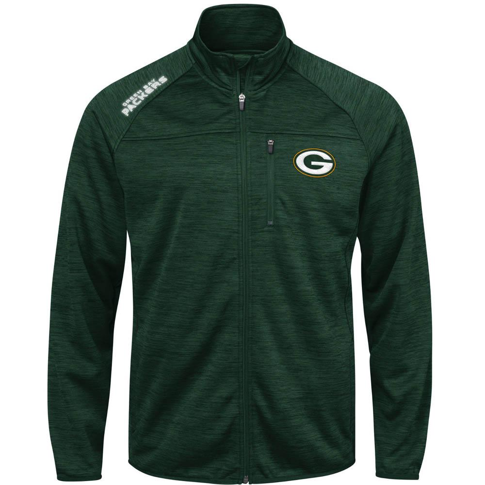 NFL パッカーズ ジャケット/アウター マインデスト トランジショナル フルジップ G-III グリーン