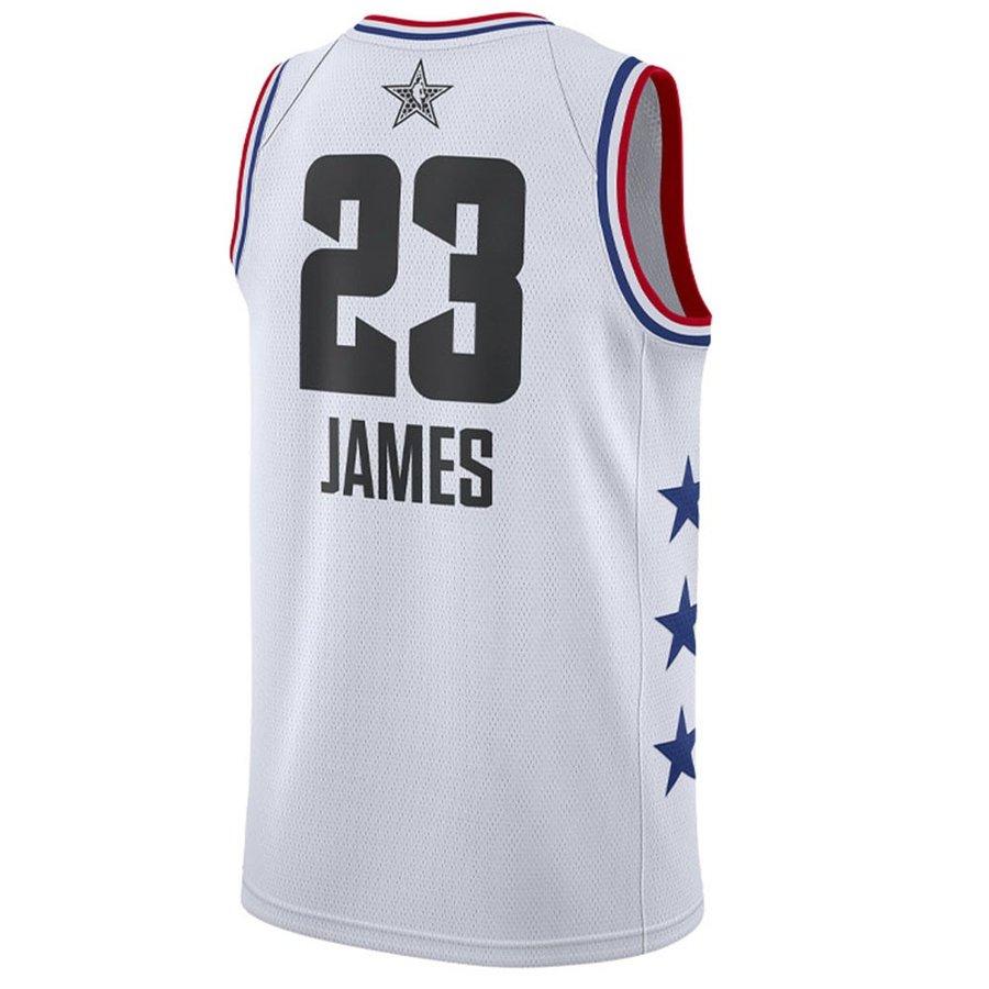 NBA レブロン・ジェイムス ユニフォーム/ジャージ 2019 オールスター スウィングマン ナイキ/Nike ホワイト AQ7297-106