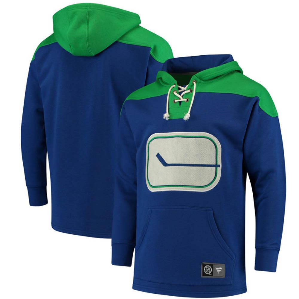 dac95ab52e249 お取り寄せ お取り寄せ NHL カナックス パーカー フーディー ブレイクアウェイ レースアップ グリーン