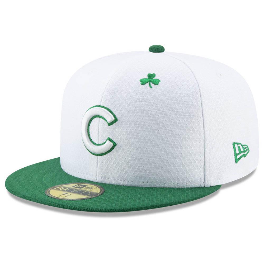 お取り寄せ お取り寄せ MLB カブス キャップ/帽子 2019 セント パディーズ デイ ニューエラ/New Era ホワイト