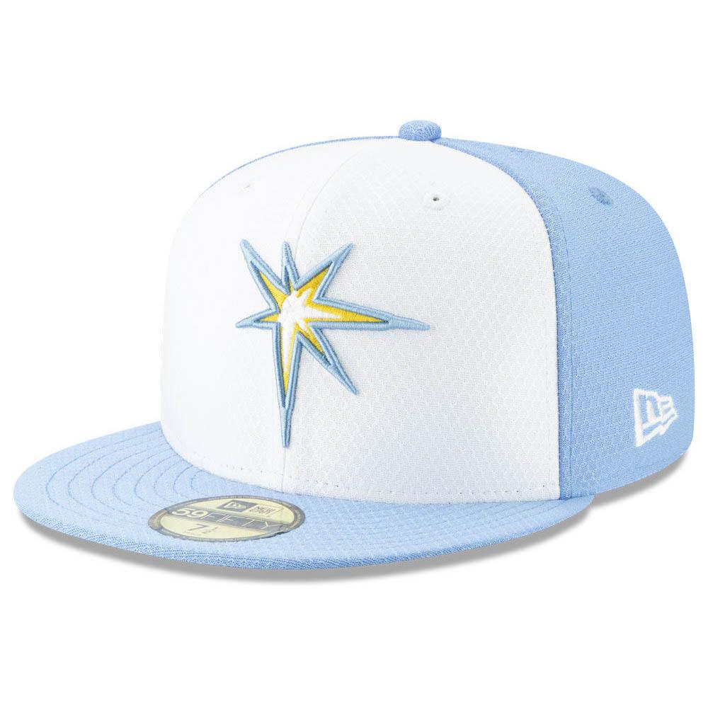 筒香選手所属 レイズ キャップ ニューエラ NEW ERA MLB 2019 オンフィールド バッティング プラクティス ゲーム【1910価格変更】【191028変更】