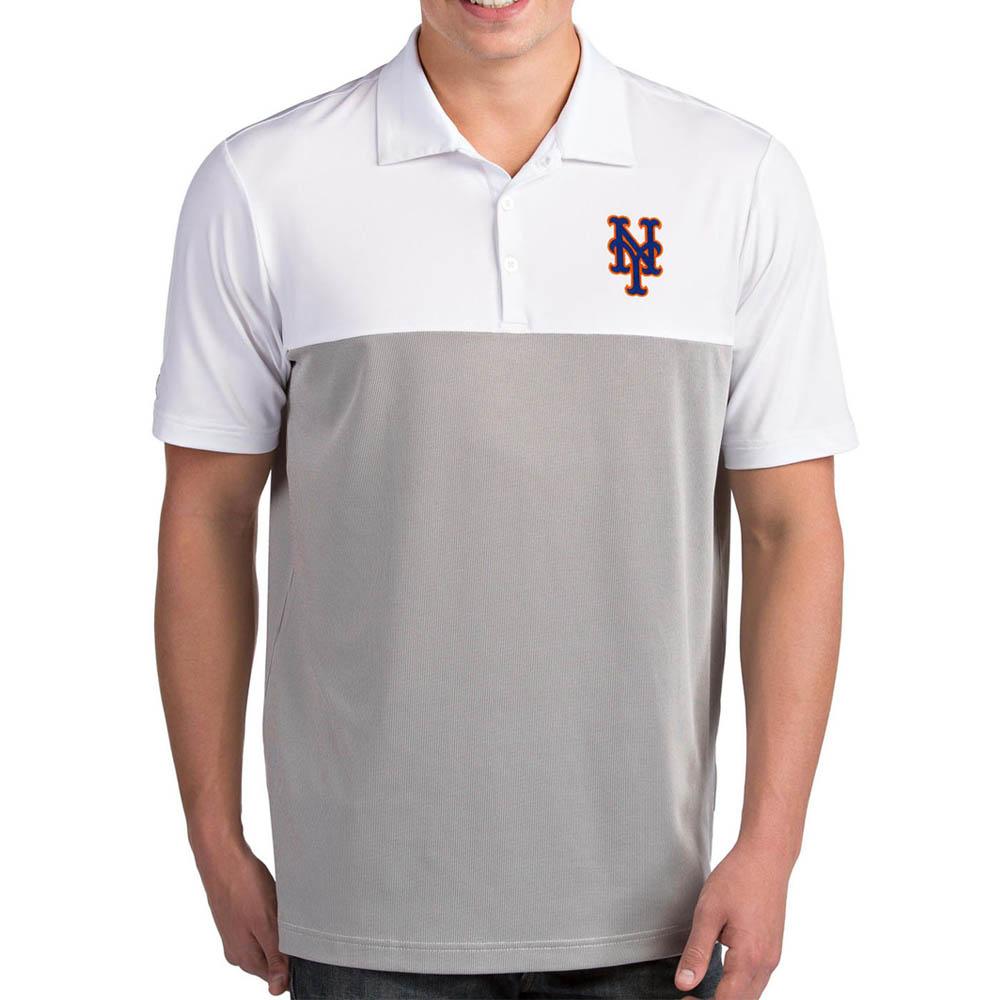 お取り寄せ MLB メッツ ポロシャツ ベンチャー パフォーマンス メンズ Antigua ホワイト