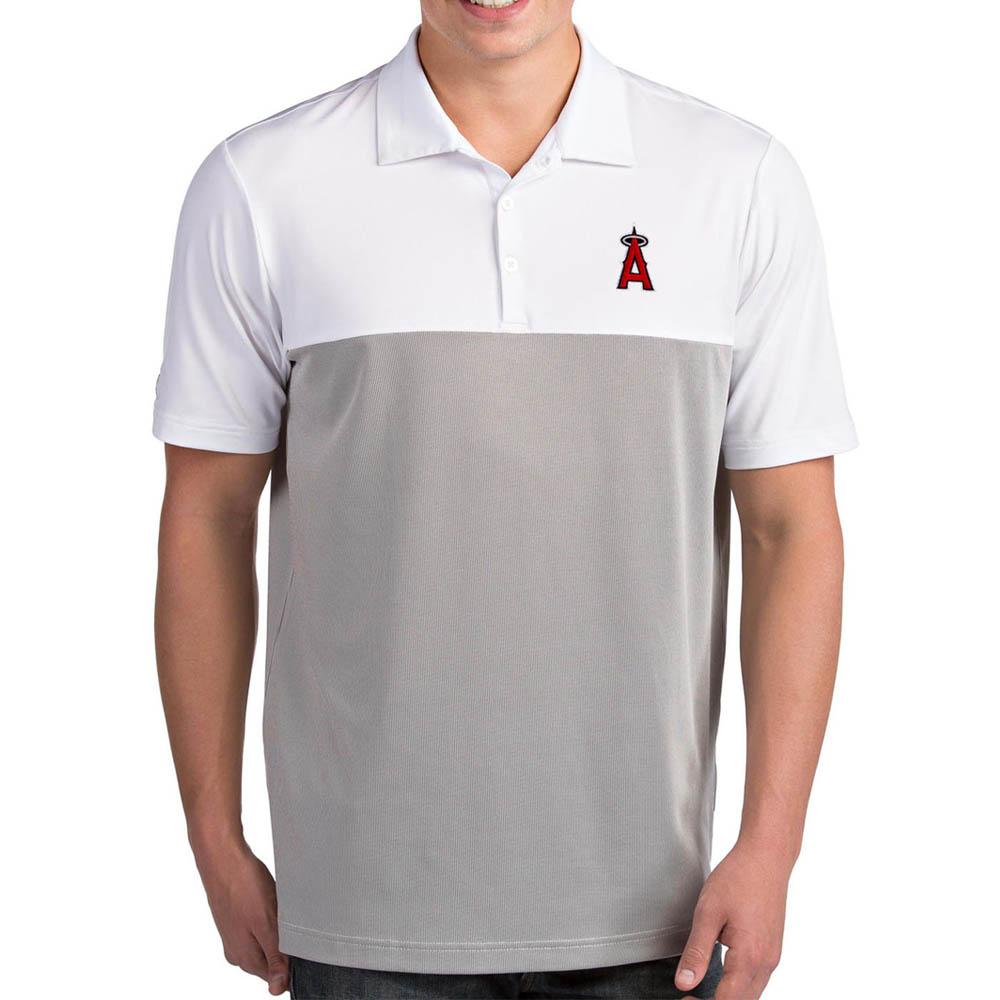 MLB エンゼルス ポロシャツ ベンチャー パフォーマンス メンズ Antigua ホワイト