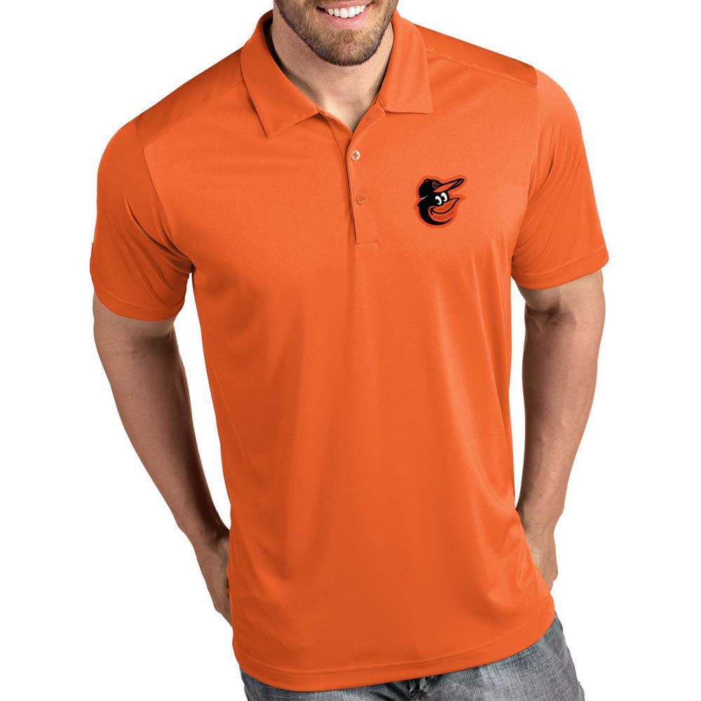 MLB オリオールズ ポロシャツ トリビュート パフォーマンス メンズ Antigua オレンジ