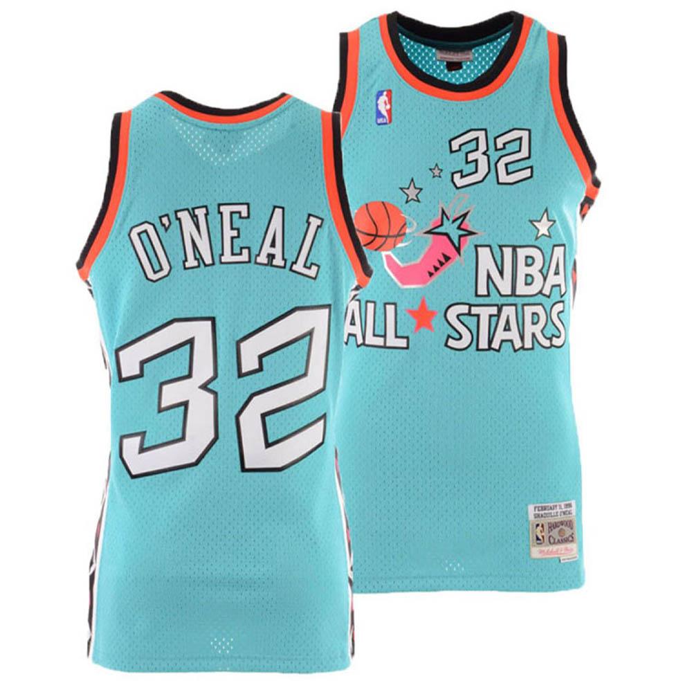 お取り寄せ お取り寄せ NBA シャキール・オニール ユニフォーム/ジャージ オールスターゲーム 1996 スウィングマン Mitchell & Ness ティール