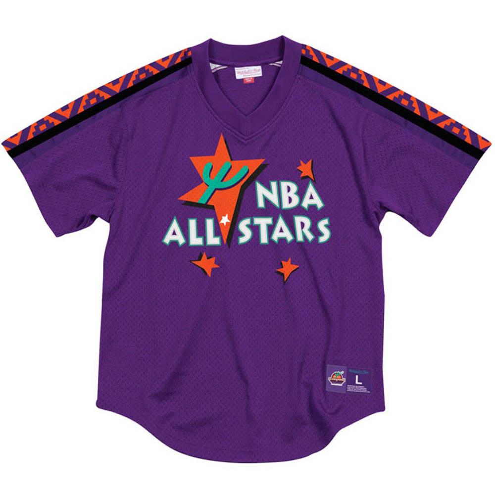 【50%OFF】 お取り寄せ Ness お取り寄せ NBA メッシュ ユニフォーム/ジャージ オールスターゲーム & 1995 メッシュ Vネック Mitchell & Ness パープル, FRAY I.D/フレイアイディー:2331129b --- canoncity.azurewebsites.net