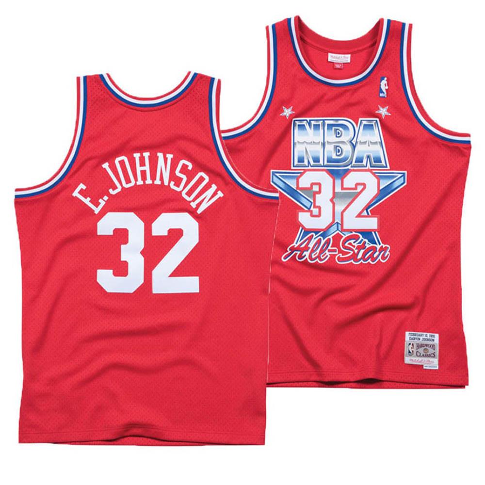 【予約販売】本 お取り寄せ お取り寄せ NBA マジック Mitchell・ジョンソン ユニフォーム &/ジャージ オールスターゲーム 1991 Ness スウィングマン Mitchell & Ness レッド, マルサンのりオンラインショップ:004e54a2 --- canoncity.azurewebsites.net