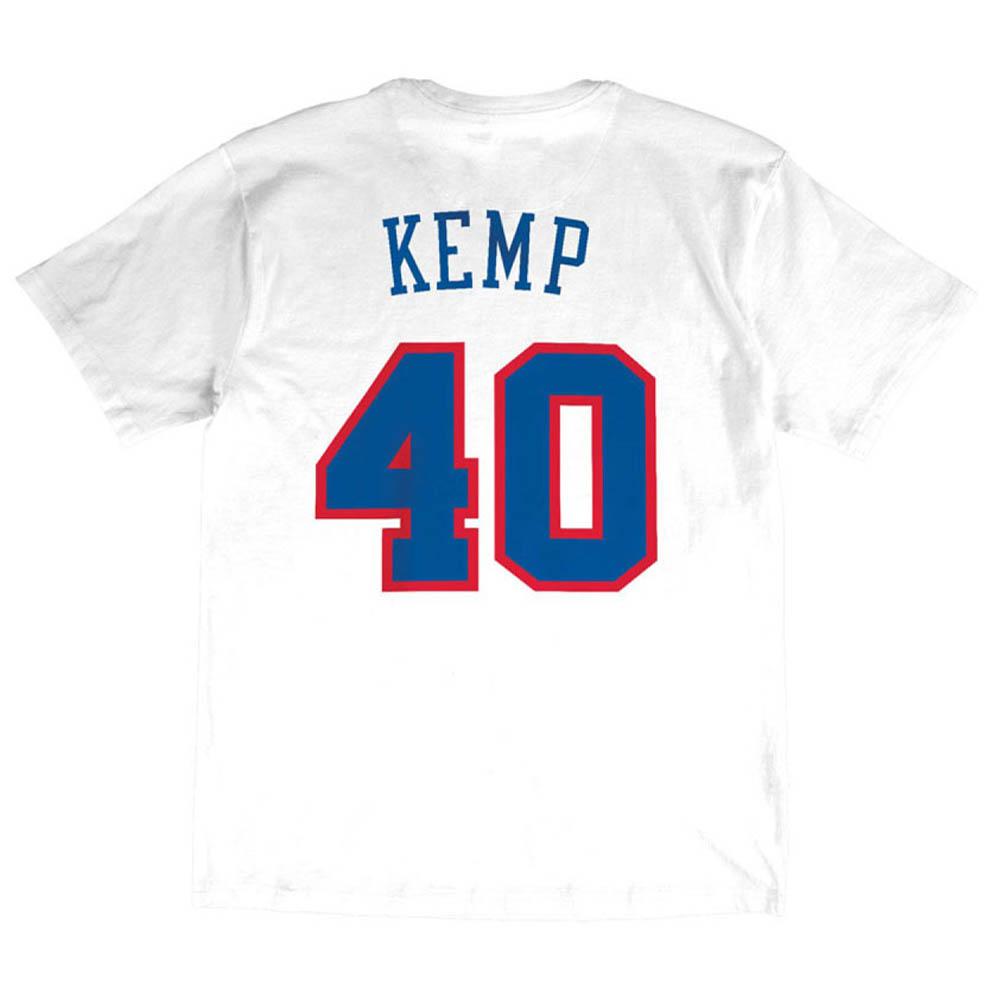 お取り寄せ お取り寄せ NBA ショーン・ケンプ Tシャツ オールスターゲーム 1994 ネーム&ナンバー Mitchell & Ness ホワイト