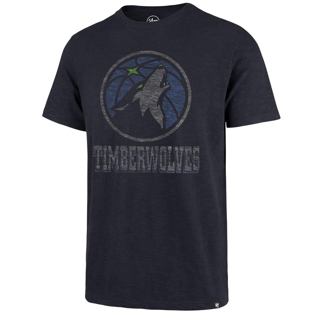 お取り寄せ お取り寄せ NBA ティンバーウルブズ Tシャツ スクラム プライマリーロゴ 47 Brand