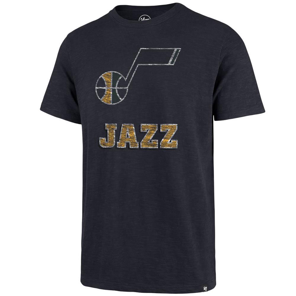 お取り寄せ お取り寄せ NBA ジャズ Tシャツ スクラム プライマリーロゴ 47 Brand