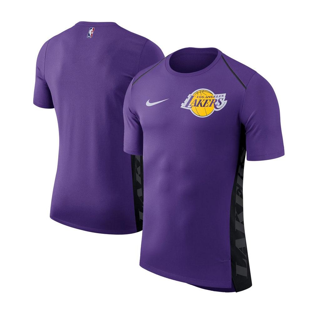 NBA レイカーズ Tシャツ エリート シューター パフォーマンス メンズ ナイキ/Nike パープル