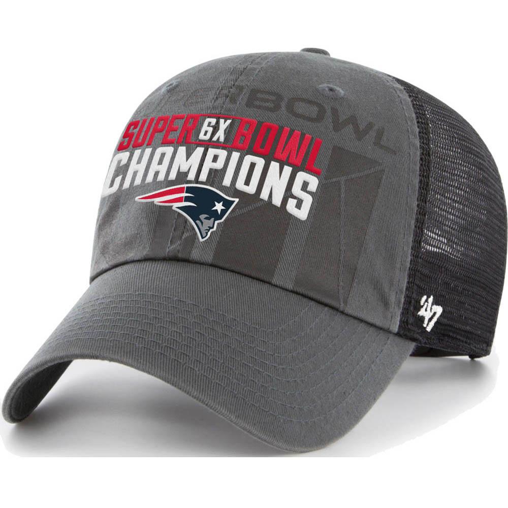 uk availability b3fa9 6af1a NFL Patriots cap   hat 53rd Super Bowl championship memory multi-champ 47  Brand ...