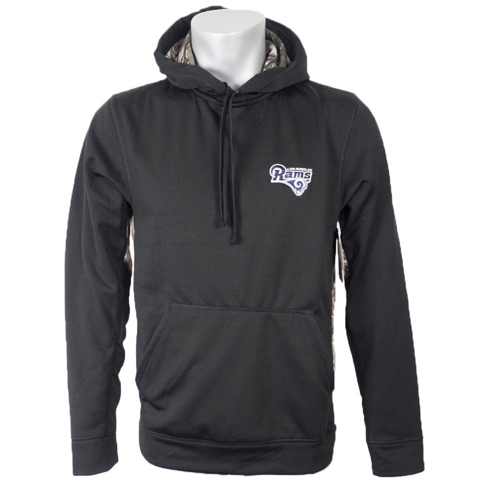 NFL ラムズ パーカー/フーディー レンジャー ダンブルック/Dunbrooke ブラック