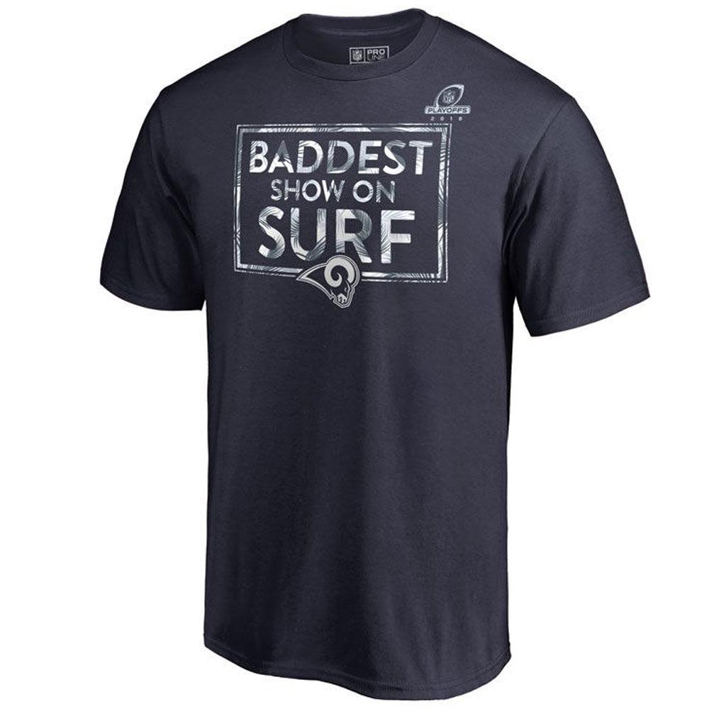 NFL ラムズ Tシャツ プレイオフ パッケージ ネイビー【1910価格変更】