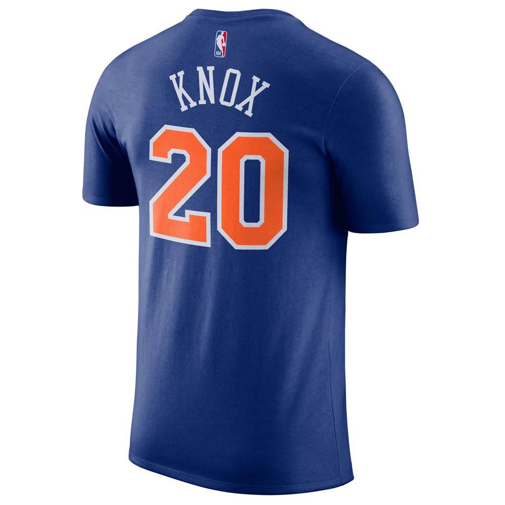 pretty nice 69ca2 f69ae Order order NBA Knicks Kevin Knox T-shirt name & number Nike /Nike blue  870,794-415
