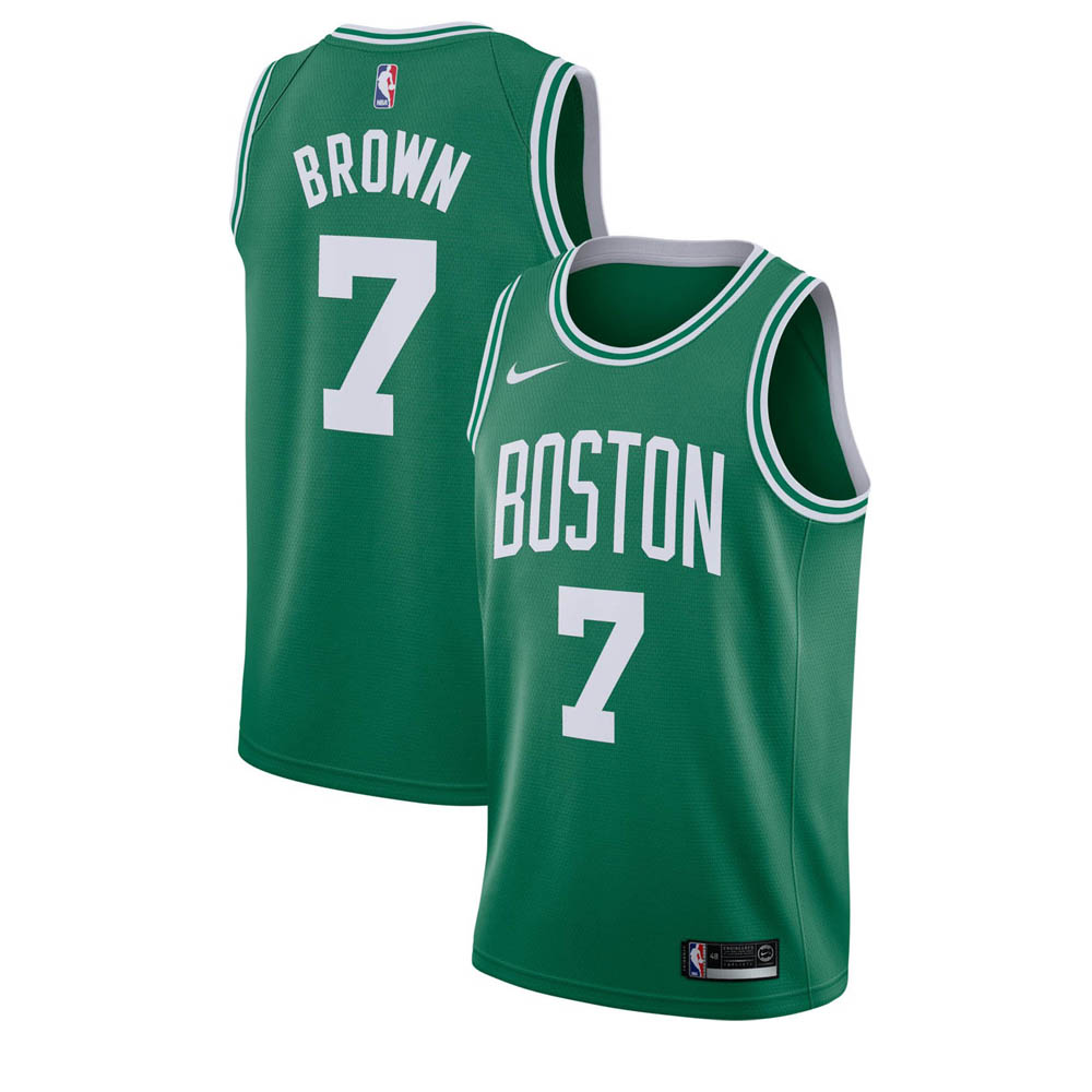 NBA セルティックス ジェイレン・ブラウン ユニフォーム/ジャージ スウィングマン ナイキ/Nike グリーン 864461-318
