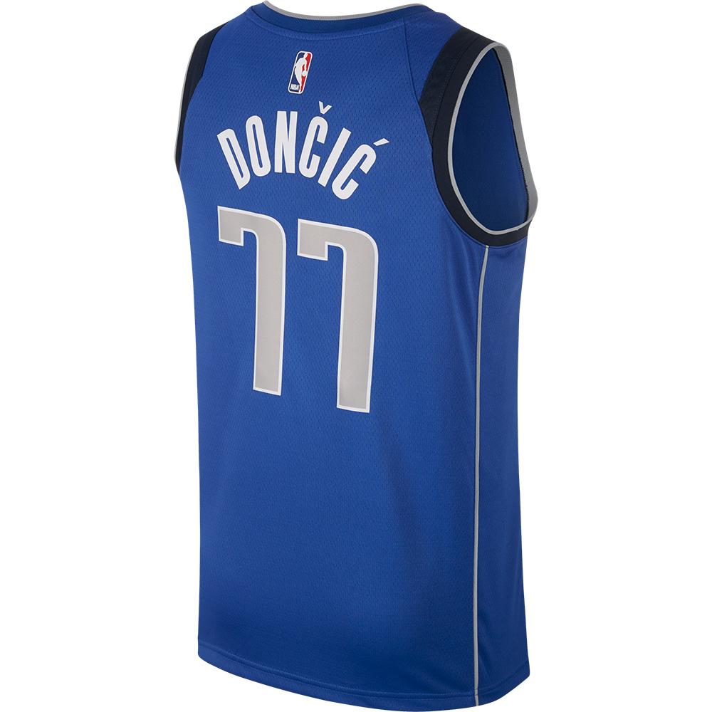 NBA マーベリックス ルカ・ドンチッチ ユニフォーム/ジャージ スウィングマン ナイキ/Nike ロイヤル 864469-487
