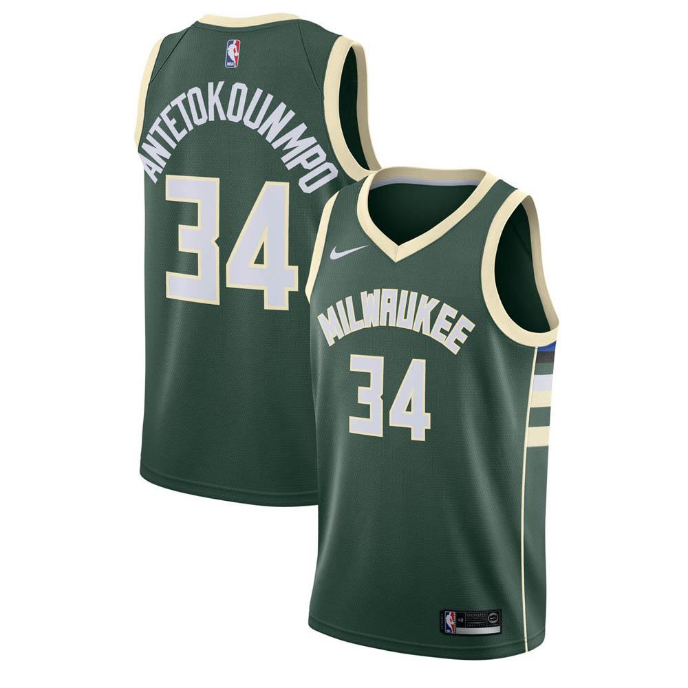 NBA バックス ヤニス・アデトクンボ ユニフォーム/ジャージ スウィングマン ナイキ/Nike グリーン 864489-323