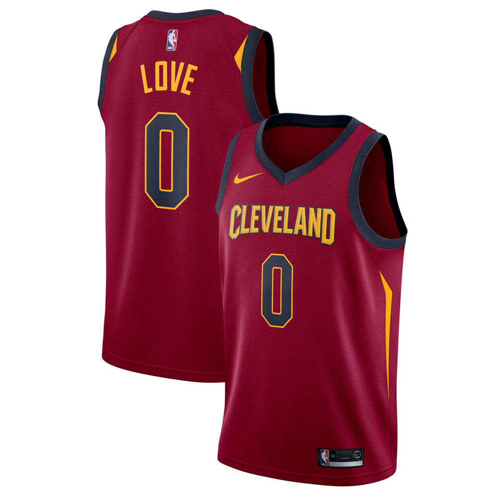 NBA キャバリアーズ ケビン・ラブ ユニフォーム/ジャージ スウィングマン ナイキ/Nike バーガンディ 864467-679