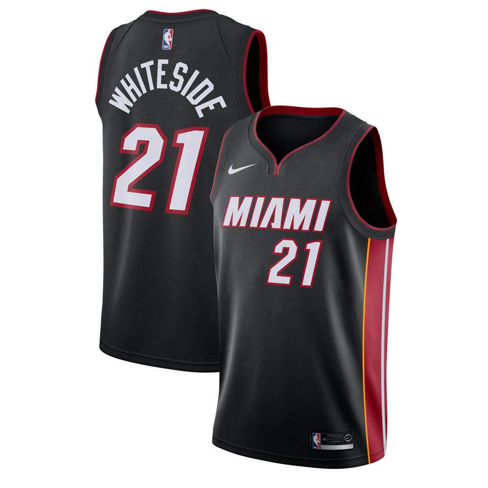 NBA ヒート ハッサン・ホワイトサイド ユニフォーム/ジャージ スウィングマン ナイキ/Nike ブラック 864487-010