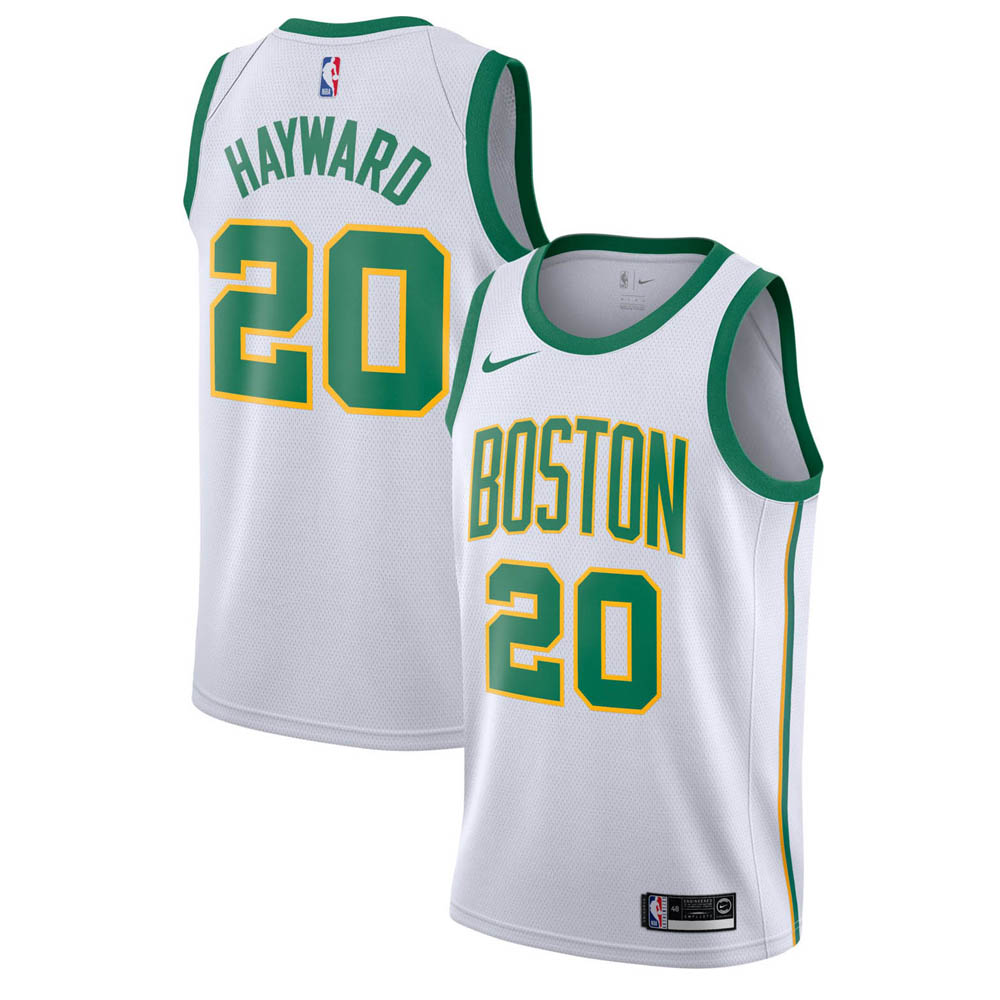NBA セルティックス ゴードン・ヘイワード ユニフォーム/ジャージ スウィングマン シティ・エディション ナイキ/Nike