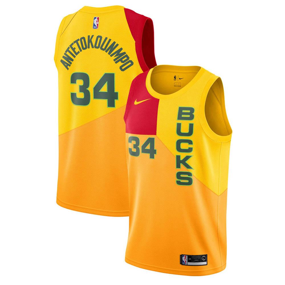 NBA バックス ヤニス・アデトクンボ ユニフォーム/ジャージ スウィングマン シティ・エディション ナイキ/Nike AJ4624-717