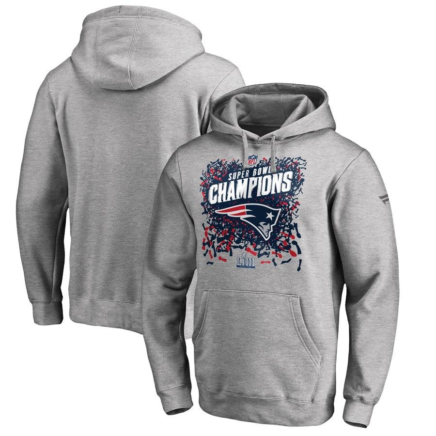 the best attitude 47b1d d5afd NFL Patriots parka / フーディー 53rd Super Bowl championship memory locker room  Heather Gray