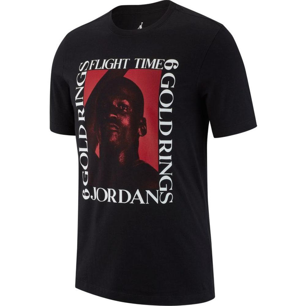 ナイキ ジョーダン/NIKE JORDAN Tシャツ フライトタイム ブラック AO0690-010【1910価格変更】
