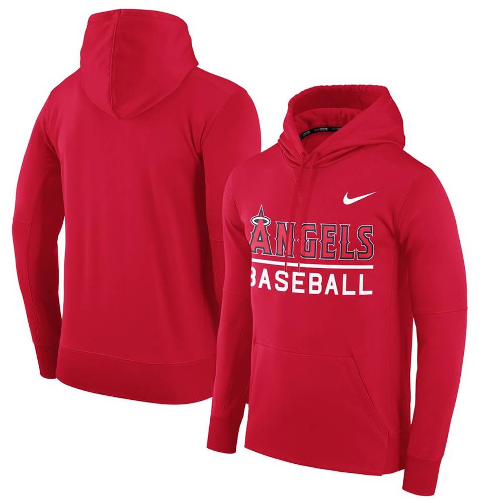MLB エンゼルス パーカー/フーディー サーマ メンズ ナイキ/Nike レッド 00034179X-AN1