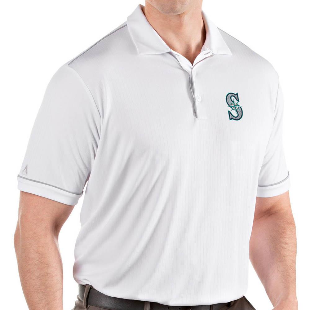 MLB マリナーズ ポロシャツ サルート パフォーマンス メンズ Antigua ホワイト