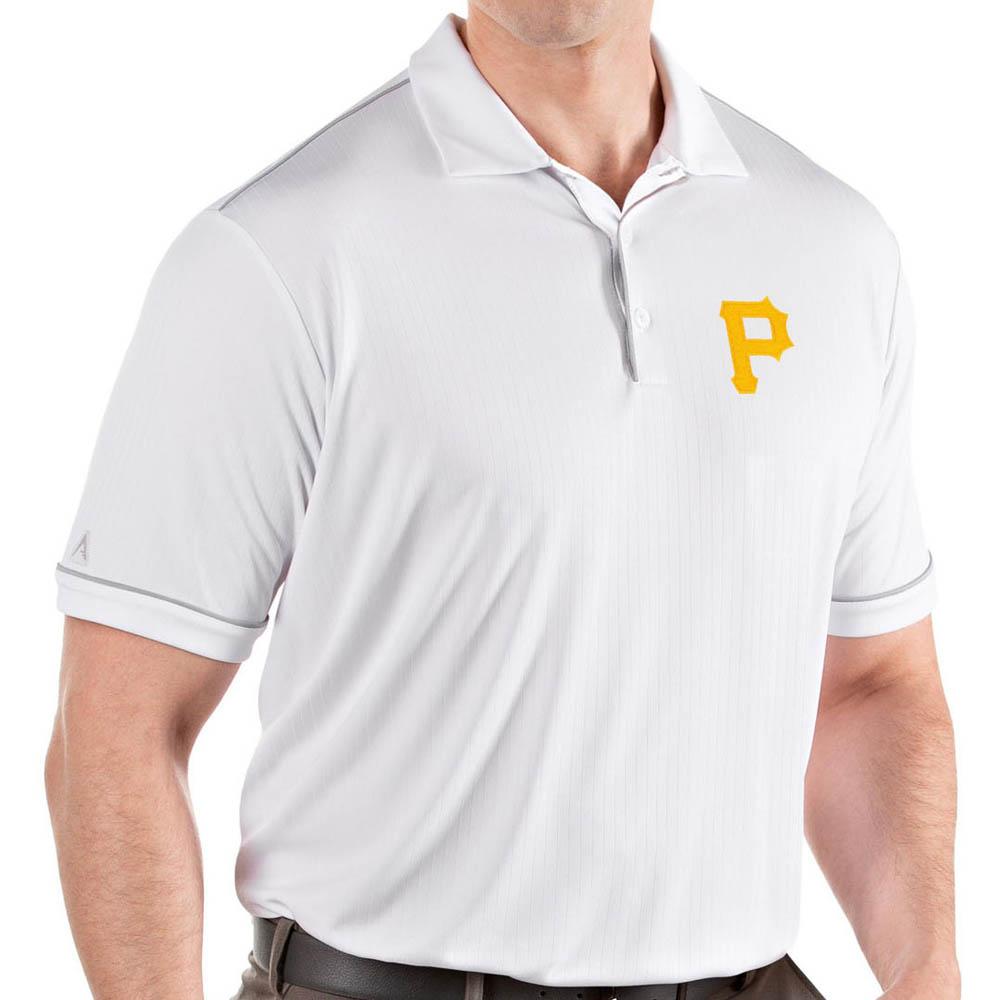 パフォーマンス パイレーツ ホワイト メンズ MLB ポロシャツ サルート Antigua