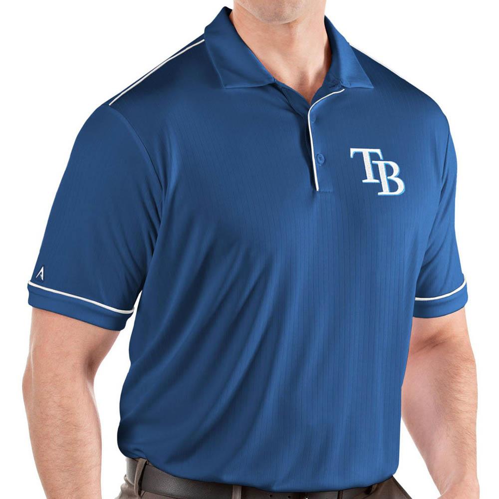 MLB レイズ ポロシャツ サルート パフォーマンス メンズ Antigua ロイヤル