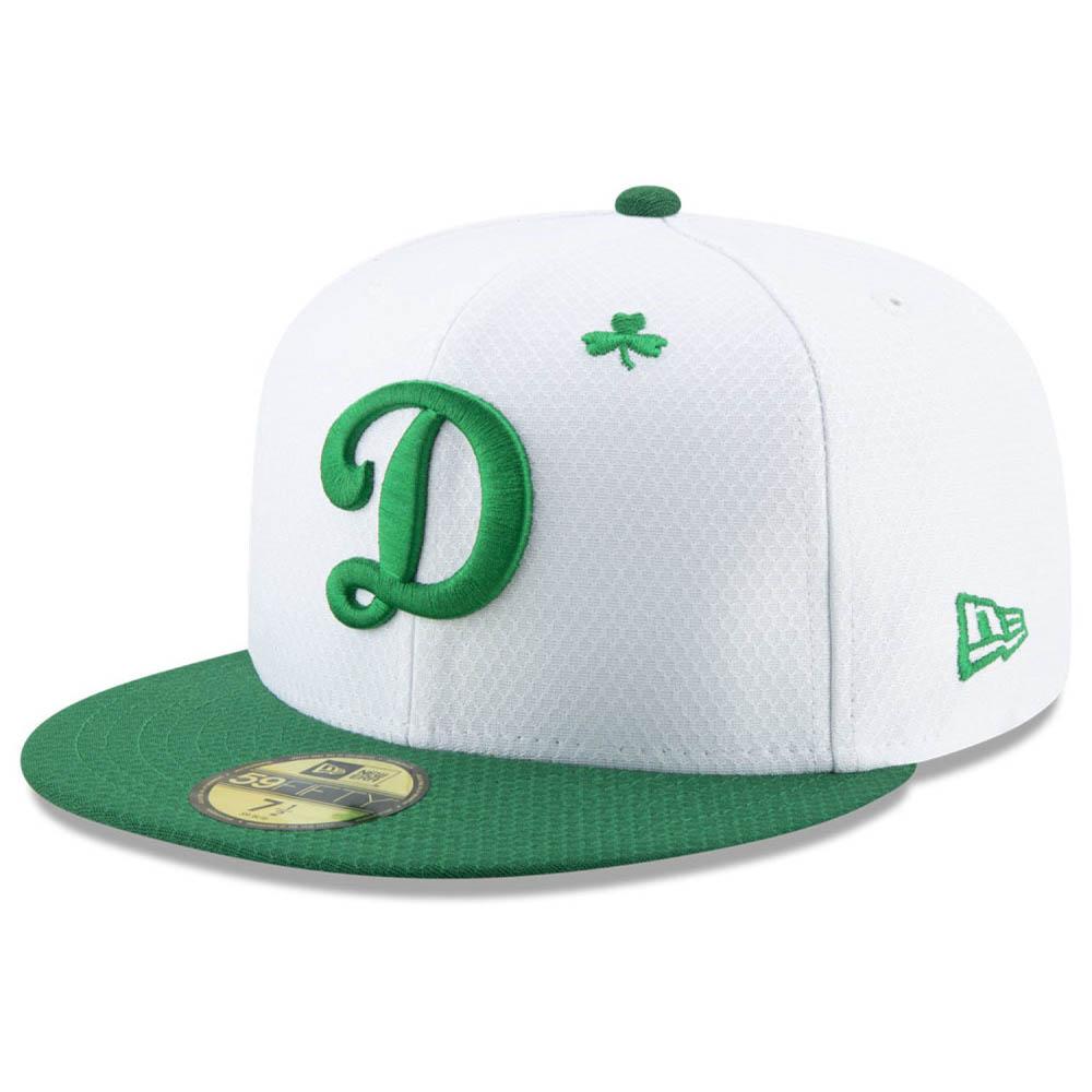 お取り寄せ MLB ドジャース キャップ/帽子 セント・パトリック・デー 2019 59FIFTY ニューエラ/New Era ホワイト