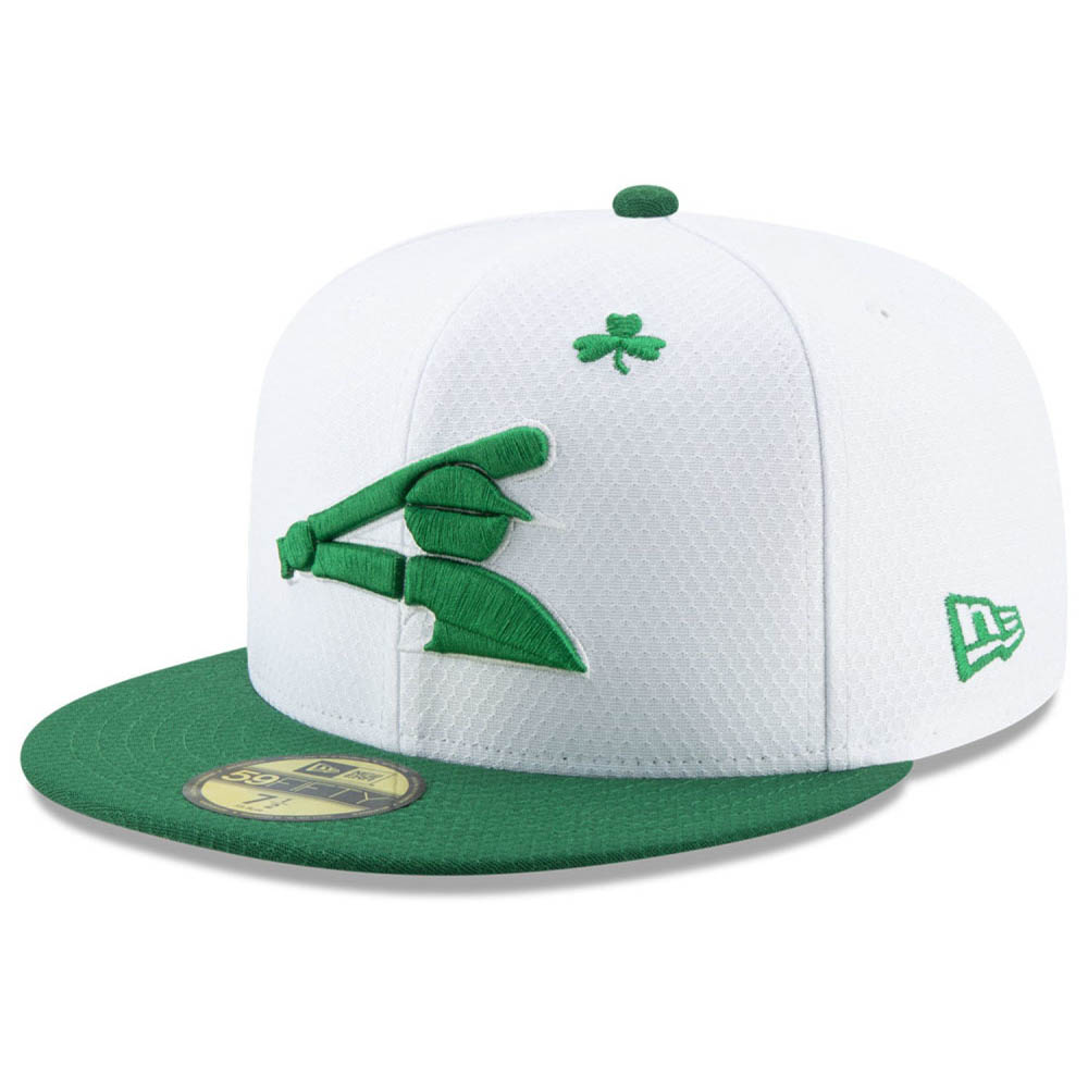 お取り寄せ MLB ホワイトソックス キャップ/帽子 セント・パトリック・デー 2019 59FIFTY ニューエラ/New Era ホワイト