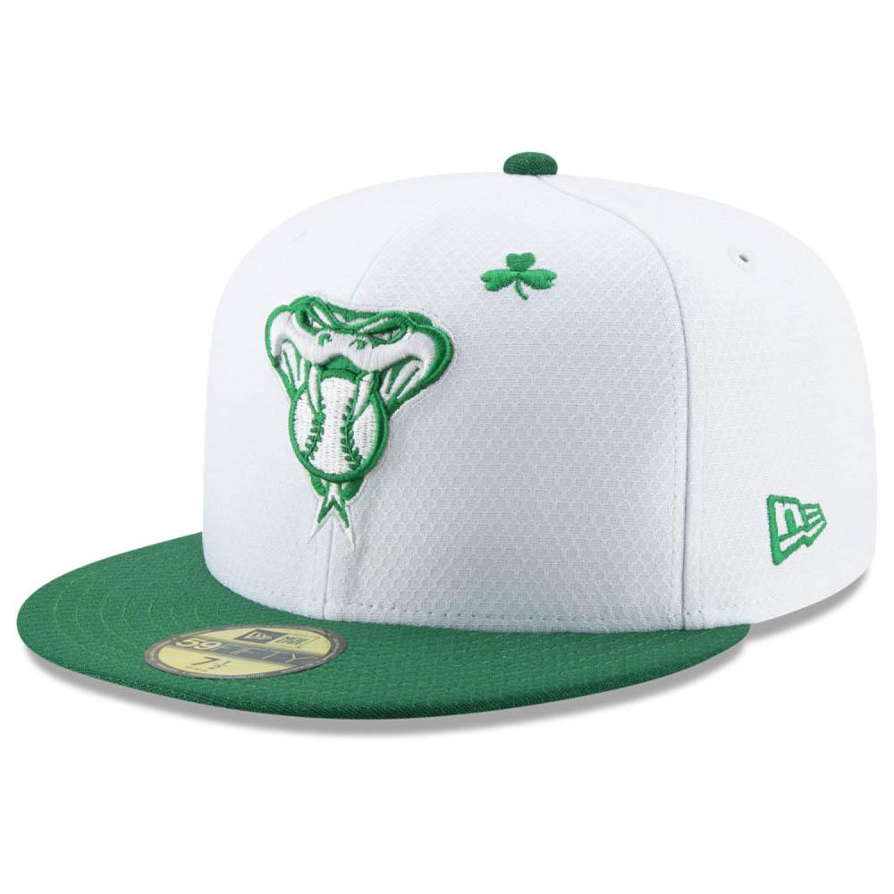 お取り寄せ MLB ダイヤモンドバックス キャップ/帽子 セント・パトリック・デー 2019 59FIFTY ニューエラ/New Era ホワイト