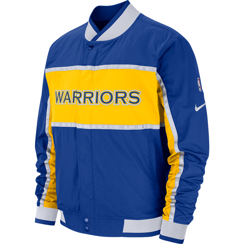 NBA ウォリアーズ ジャケット/アウター コートサイド アイコン メンズ ナイキ/Nike AJ9151-495【NIKEJP】