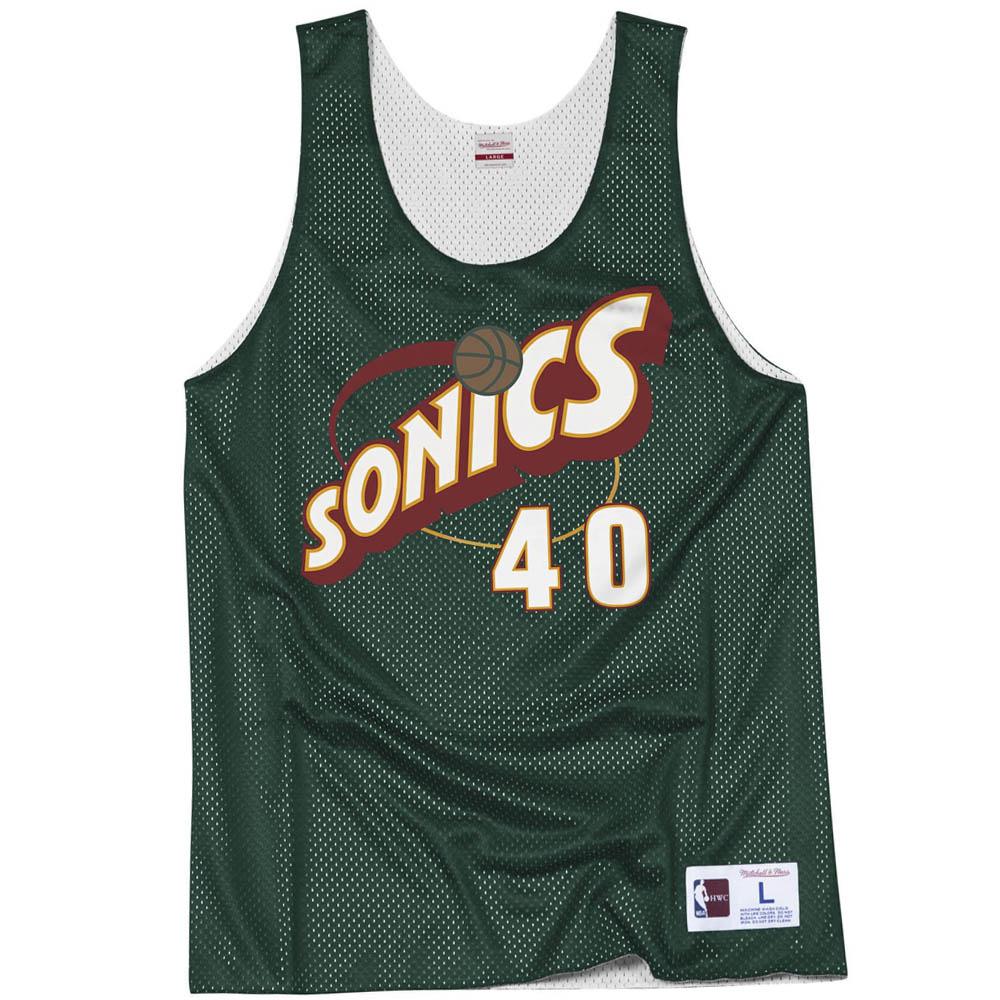 NBA スーパーソニックス ショーン・ケンプ ユニフォーム/ジャージ オールスターゲーム リバーシブル ミッチェル&ネス/Mitchell & Ness